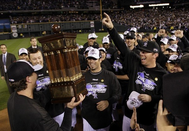 Jeff Francis led the Rockies to the World Series in 2007