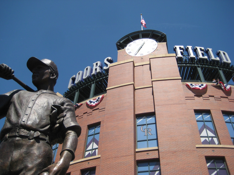 Coors Field on Opening Day 2008